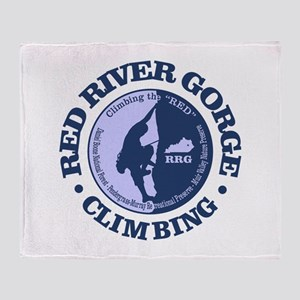 Red River Gorge Throw Blanket