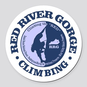 Red River Gorge Round Car Magnet