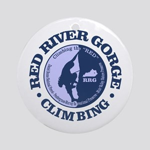 Red River Gorge Round Ornament
