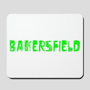 Bakersfield Faded (Green) Mousepad