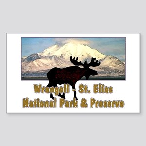 Wrangell - St. Elias National Rectangle Sticker