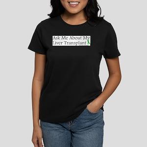 Ask Me Liver Ash Grey T-Shirt