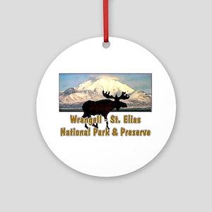 Wrangell - St. Elias National Ornament (Round)