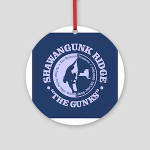 The Gunks Round Ornament