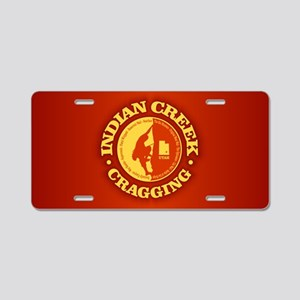 Indian Creek Aluminum License Plate