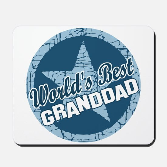 Worlds Best Granddad Mousepad