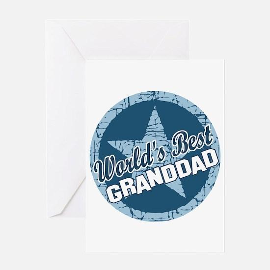 Worlds Best Granddad Greeting Card