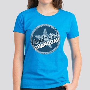 Worlds Best Granddad Women's Dark T-Shirt