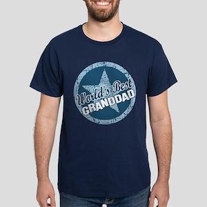 Worlds Best Granddad Dark T-Shirt