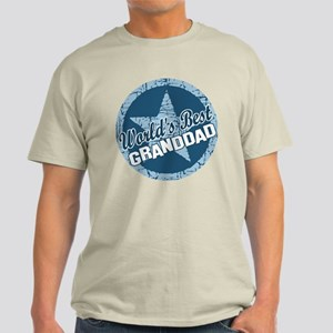 Worlds Best Granddad Light T-Shirt