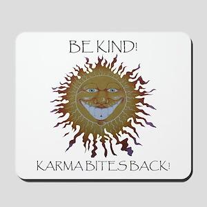 Karma Sun Face Mousepad
