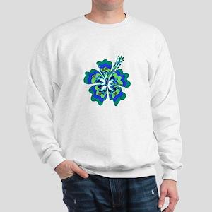 Psychedelic Hibiscus Sweatshirt
