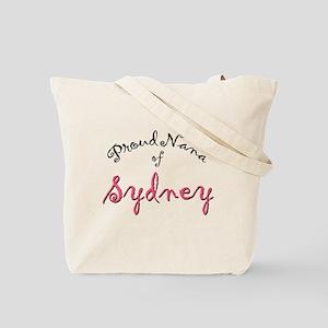 """Proud Nana of Sydney"" tote bag"