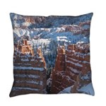 Bryce Canyon in Snow Everyday Pillow