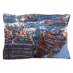 Bryce Canyon In Snow Pillow Case