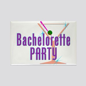 Bachelorette Party Cocktail Rectangle Magnet