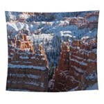 Bryce Canyon in Snow Wall Tapestry