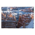 Bryce Canyon in Snow 4' x 6' Rug