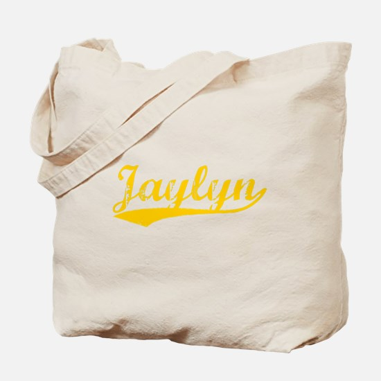 Vintage Jaylyn (Orange) Tote Bag