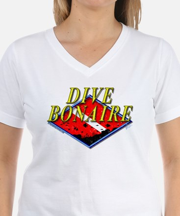 Dive Bonaire Women's Dark T-Shirt