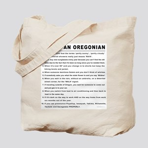 You're an Oregonian Tote Bag