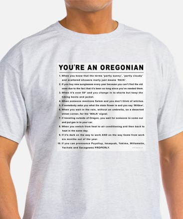 You're an Oregonian T-Shirt