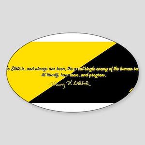 Murray Rothbard Quote Sticker