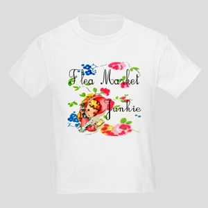 flea market junkie # Kids Light T-Shirt