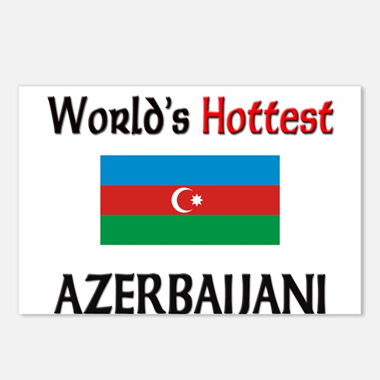 World's Hottest Azerbaijani Postcards (Package of