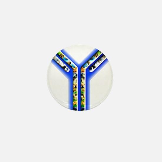 Cute Antibody Mini Button