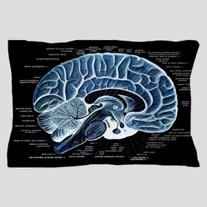 Human Brain Pillow Case