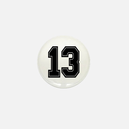13 Mini Button