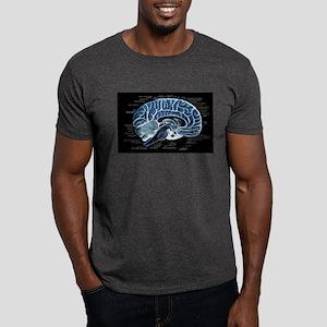Human Brain Dark T-Shirt