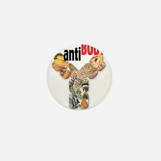 Funny Antibody Mini Button