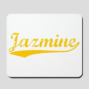 Vintage Jazmine (Orange) Mousepad