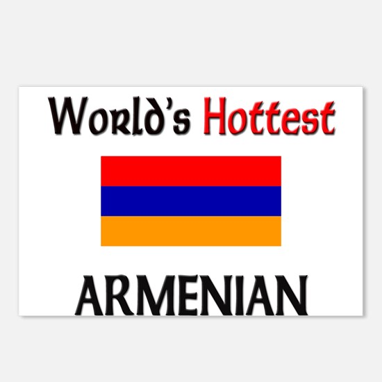 World's Hottest Armenian Postcards (Package of 8)