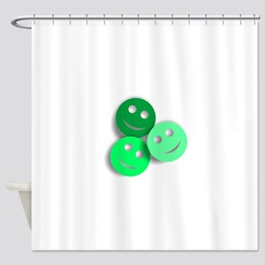 Umsted Design All Smiles Shower Curtain