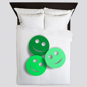 Umsted Design All Smiles Queen Duvet