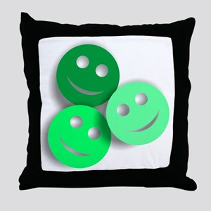 Umsted Design All Smiles Throw Pillow