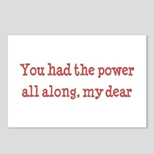 you had the power Postcards (Package of 8)