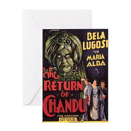 The Return of Chandu Greeting Card