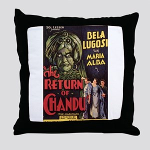 The Return of Chandu Throw Pillow