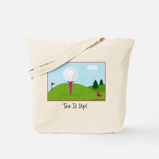 Tee It Up - Tote Bag