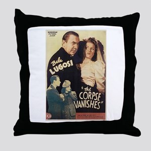 The Corpse Vanishes Throw Pillow