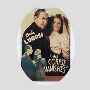 The Corpse Vanishes Oval Ornament