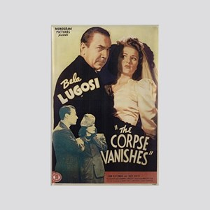 The Corpse Vanishes Rectangle Magnet
