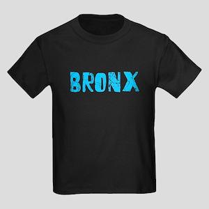 Bronx Faded (Blue) Kids Dark T-Shirt