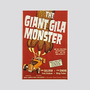The Giant Gila Monster Rectangle Magnet