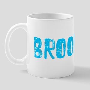 Brookings Faded (Blue) Mug