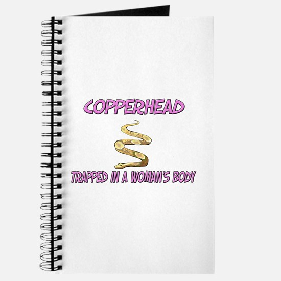 Copperhead Trapped In A Woman's Body Journal